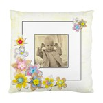 Cheeky ChappieSpring Flowers Single sided cushion cover - Standard Cushion Case (One Side)