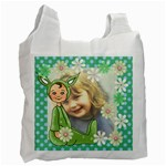 Green Easter Bag - Recycle Bag (Two Side)