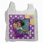 Purple Easter Bag - Recycle Bag (Two Side)