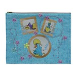 Eastereggs and blue chicks - Cosmetic Bag (XL)