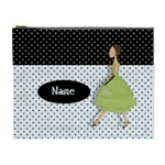 Green Dress - Cosmetic Bag (XL)