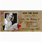 Wedding Save The Date Cards #6 - 4  x 8  Photo Cards