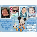 dds bday - 5  x 7  Photo Cards