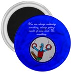 Circle gymnastics rings - 3  Magnet