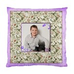 Lavendar Chintz Double sided cushion - Standard Cushion Case (Two Sides)
