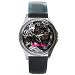 rocky girl watch - Round Metal Watch