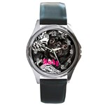 rocky girl watch option 2 - Round Metal Watch