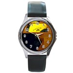 rocky shirt watch - Round Metal Watch