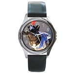 rocky pirate watch - Round Metal Watch
