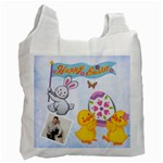 Easter Egg Hunt Recycle Bag 2 sides - Recycle Bag (Two Side)