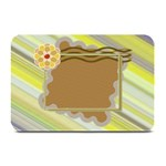 Yellow flower place mat - Plate Mat