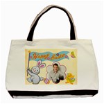 Happy Easter Double sided tote - Basic Tote Bag (Two Sides)