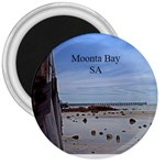 Moonta Bay Jetty 3  magnet - 3  Magnet
