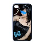 jasmine - iPhone 4 Case (Black)