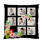 Monochrome Spring Double sided cushion cover - Standard Cushion Case (Two Sides)