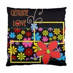 cushion case - 2 sides - genuine love - Standard Cushion Case (Two Sides)