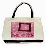 True Friends tote with 2 frames - Basic Tote Bag