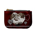Red Hearts Mini Coin Purse