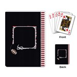 Touchdown (Black and Red) Playing Cards - Playing Cards Single Design (Rectangle)