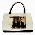 Father & Son tote - Basic Tote Bag (Two Sides)