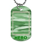 My Hero Dog Tag 1 Side - Dog Tag (One Side)