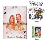 Scott Reed & Shannon Son s Brian, Dylan, Kaleb, Family s Cards - Playing Cards 54 Designs (Rectangle)