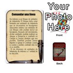Command and Colors espa?ol Brackder -faltan 6- - Playing Cards 54 Designs