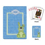 Eggzactly Spring Playing Cards 1 - Playing Cards Single Design (Rectangle)