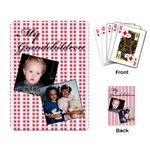 My Grandchildren playing cards - Playing Cards Single Design