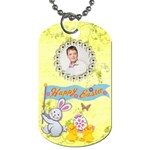 Happy Easter Dogtag Double Sided - Dog Tag (Two Sides)