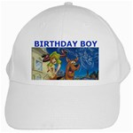 SCOOBY DOO HAT - White Cap