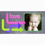 Love Vibrant Arrows Photo card - 4  x 8  Photo Cards