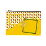 Sunshine Beach Large Cosmetic Bag 1 - Cosmetic Bag (Large)