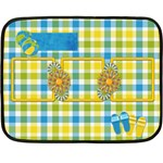 Sunshine Beach Blanket 1 - Fleece Blanket (Mini)