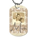 Mom Single sided dogtag - Dog Tag (One Side)