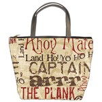 ahoy matey! - Bucket Bag