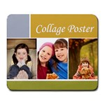 Collage Pster - Large Mousepad