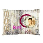 Love & Kisses Mom Mothers Day Pillow Case