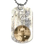 Mommy s Girl Mothers Day Double sided dog tag - Dog Tag (Two Sides)