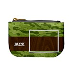 Camo mini coin purse