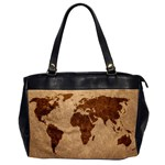 two sided office bag leather map - Oversize Office Handbag (2 Sides)