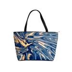 blue burst shoulder bag - Classic Shoulder Handbag