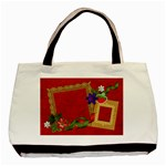 Strawberry tote, 1 side, template - Basic Tote Bag