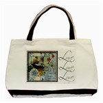 Love, Love, Love, Always & Forever Classic 2 sided tote - Basic Tote Bag (Two Sides)