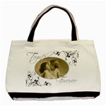 You & Me, Together Forever Double sided Tote Bag - Basic Tote Bag (Two Sides)