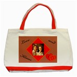 Love and Kisses, Tote Bag - Classic Tote Bag (Red)