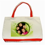 flower worlds - Classic Tote Bag (Red)