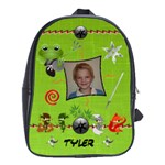 Green Ninja Backpack - School Bag (Large)