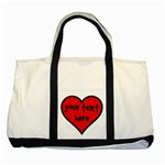 add your own text - Two Tone Tote Bag
