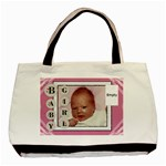 Baby Girl Pink Classic Tote Bag - Basic Tote Bag (Two Sides)